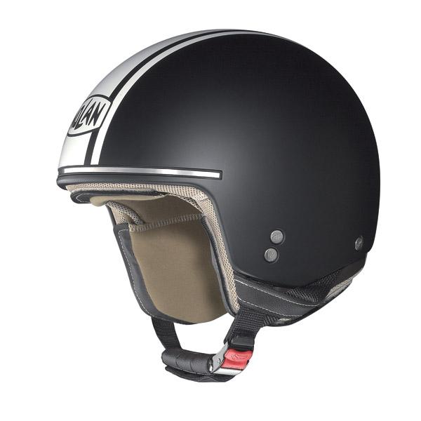 Nolan N20 Naked Caribe Plus jet helmet flat black