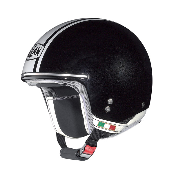 Casco moto Nolan N20 Naked Caribe Plus metal black