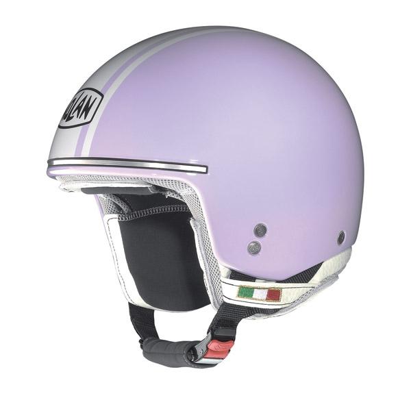Casco moto Nolan N20 Naked Caribe Plus lavender