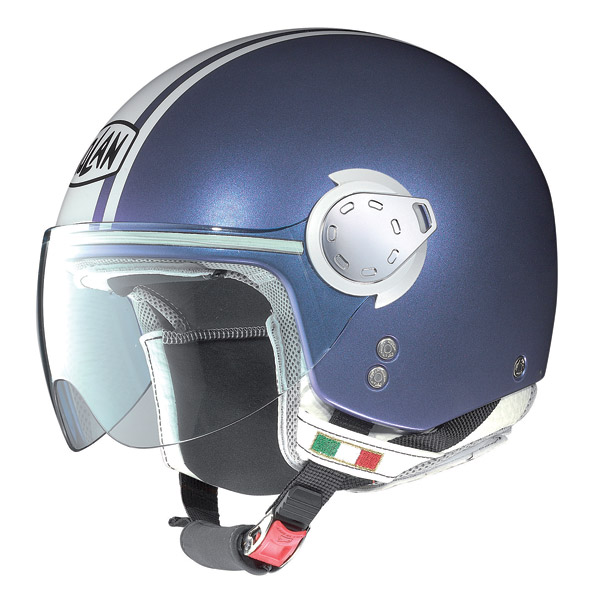 Helmet demi-jet Nolan N20 Traffic Caribe Plus Pearl Purple
