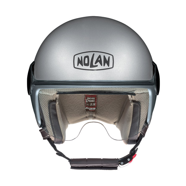 Casco moto demi-jet Nolan N20 Traffic Caribe Plus Rainbow Rose