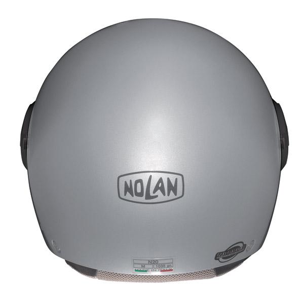 Helmet demi-jet  Nolan N20 Traffic Combat Plus Flat Pearl Pink
