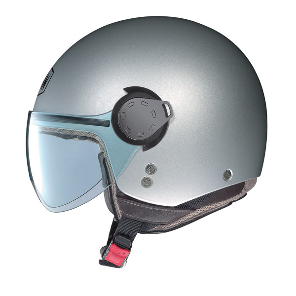 Casco demi-jet  Nolan N20 Traffic Combat Plus Bianco