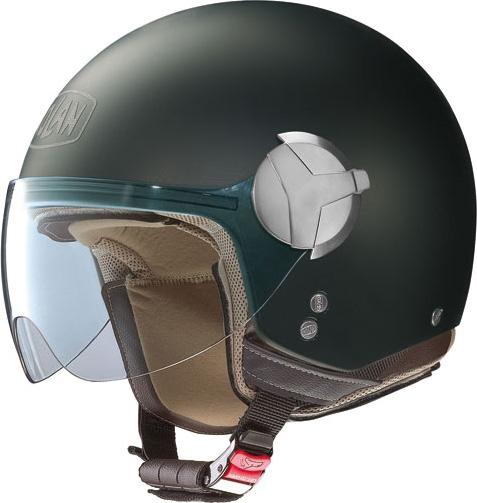 Casco moto Nolan N20 Traffic Classic nero opaco