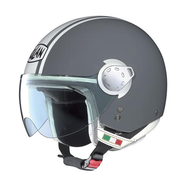 Nolan N20 Traffic Caribe Plus Cool Grey jet helmet