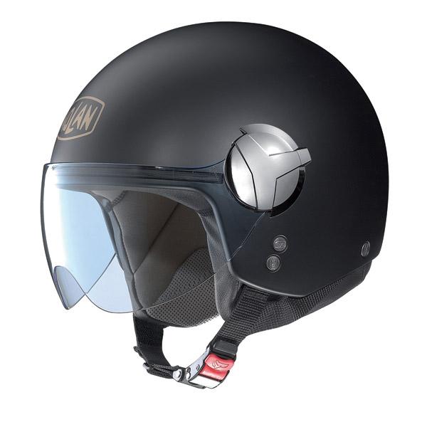 Casco moto Nolan N20 Traffic 40th Edition nero opaco