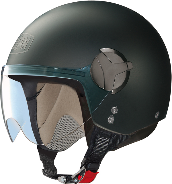 Nolan N20 Traffic Easy jet helmet flat black