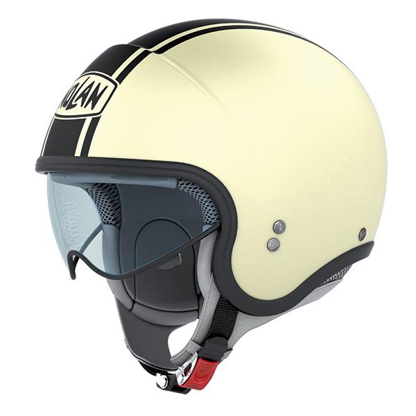 Nolan N21 Caribe jet helmet Cream White