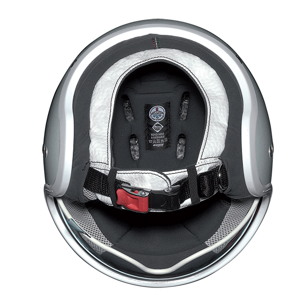 Nolan N21 Lario jet helmet Grey chrome
