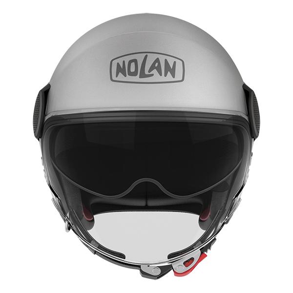 Nolan N21 Visor Duetto jet helmet White Orange