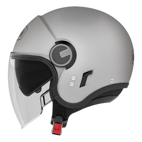 Nolan N21 Visor Duetto jet helmetWhite Black