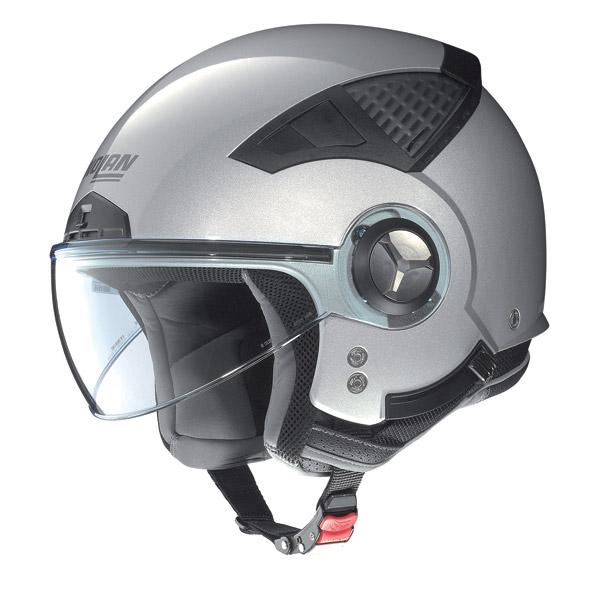 Nolan N33 Special jet helmet salt silver