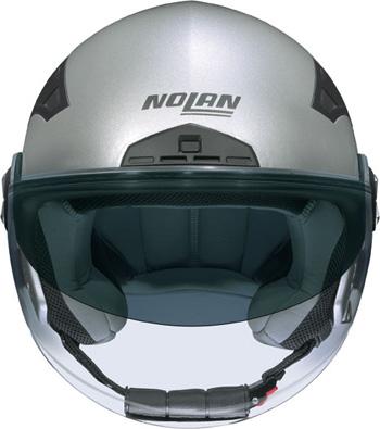 Casco moto jet Nolan N33 Classic platinum silver