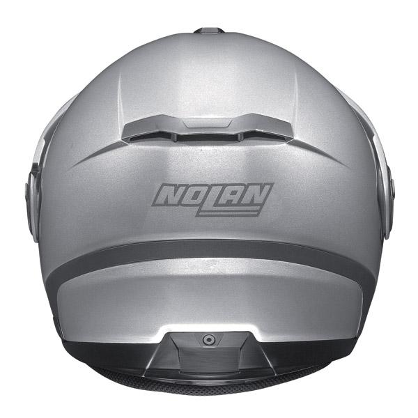 Casco moto jet Nolan N40 N-Com Classic Nero Opaco