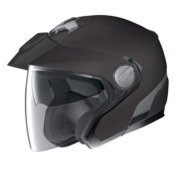 Motorcycle Helmet Jet Nolan N40 N-Com Classic Plus Flat Black
