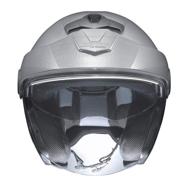 Casco moto Jet Nolan N40 N-Com Classic Plus Nero Lucido