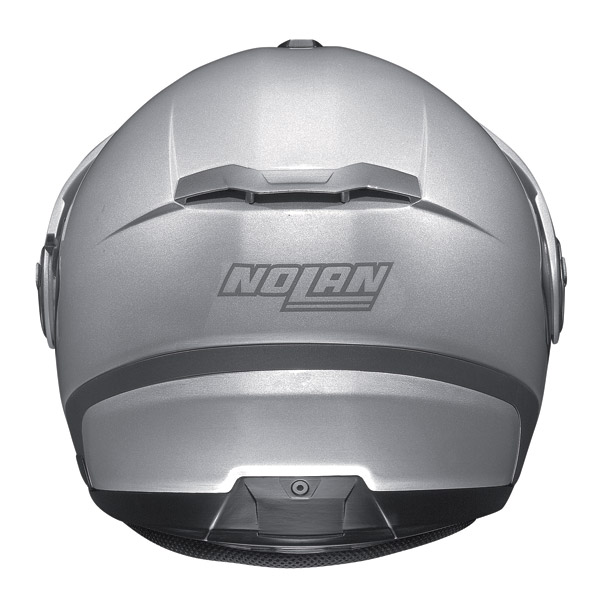 Helmet Jet Nolan N40 N-Com Classic Plus Platinum Silver