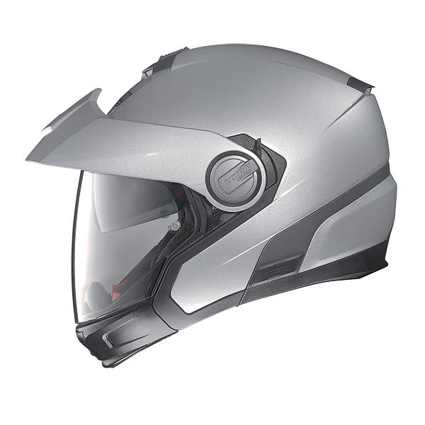Nolan N40Full Classic Plus N-Com flip off helmet Artic gray
