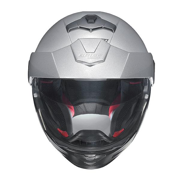 Nolan N40Full Classic Plus N-Com flip off helmet Lava Grey