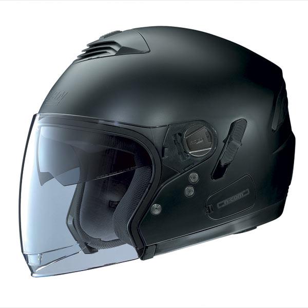 Casco moto Nolan N43E Classic N-Com nero opaco