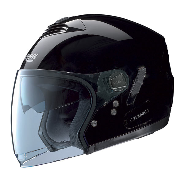 Nolan N43E Classic N-Com jet  helmet glossy black