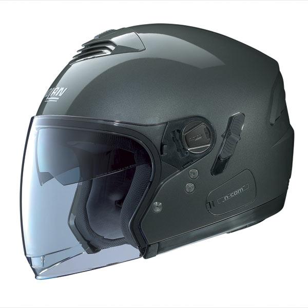 Nolan N43E Classic N-Com jet  helmet lava grey