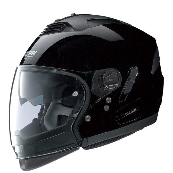 Casco moto Nolan N43E Air Special N-com metal black omol P-J