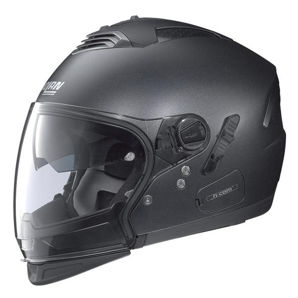 Casco moto Nolan N43E Air Special N-com black graphite omol P-J