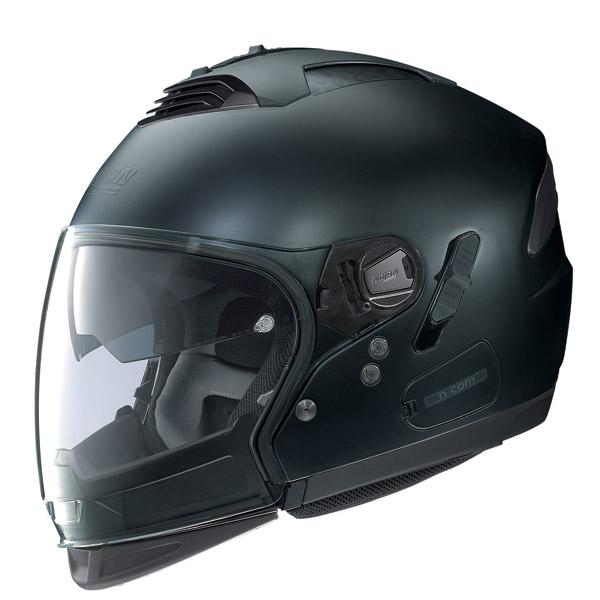 Casco moto Nolan N43E Air Classic N-com flat black omol P-J