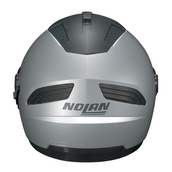 Casco moto Nolan N43E Air Voyage bianco metal