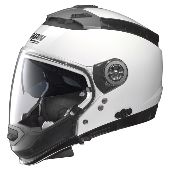 Nolan N44 Classic crossover helmet metal white omol. P-J