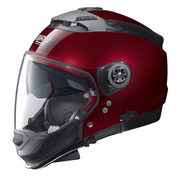 Nolan N44 Classic crossover helmet wine cherry omol. P-J