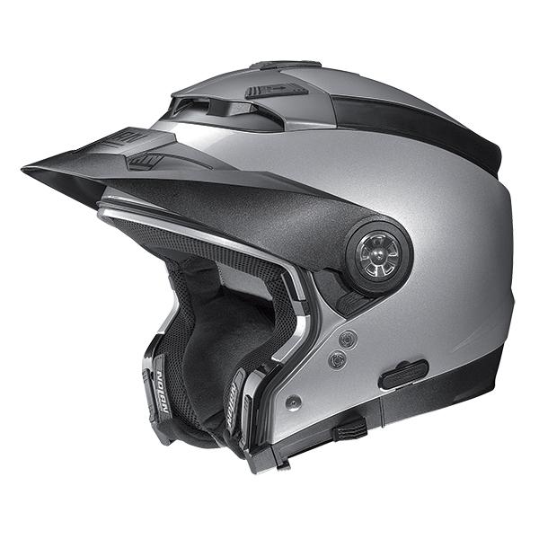 Nolan N44 Shiver N-Com flip off helmet White Blue Red