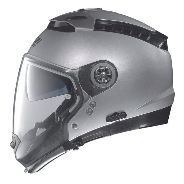 Casco moto Nolan N44 Special N-Com Black Graphite omol P-J