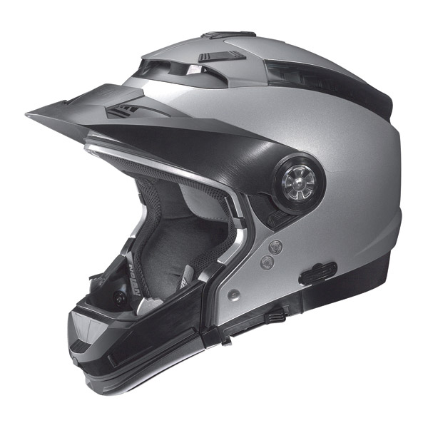 Casco moto Nolan N44 Tech N-Com Cayman Blue omol. P-J