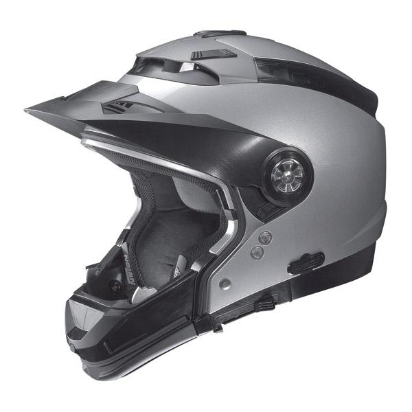 Casco moto Nolan N44 Tech N-Com Nero Opaco omol. P-J