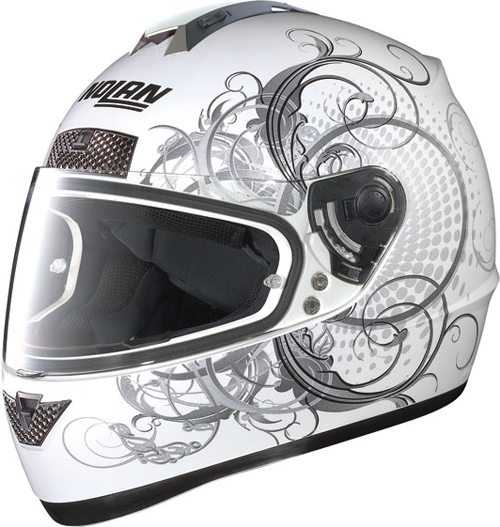 NOLAN N63 Wing full-face helmet col. metal white