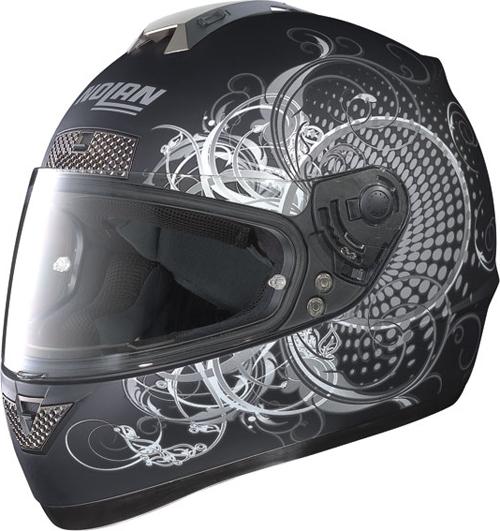 NOLAN N63 Wing full-face helmet col. flat black