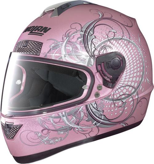 NOLAN N63 Wing full-face helmet col. pearl pink