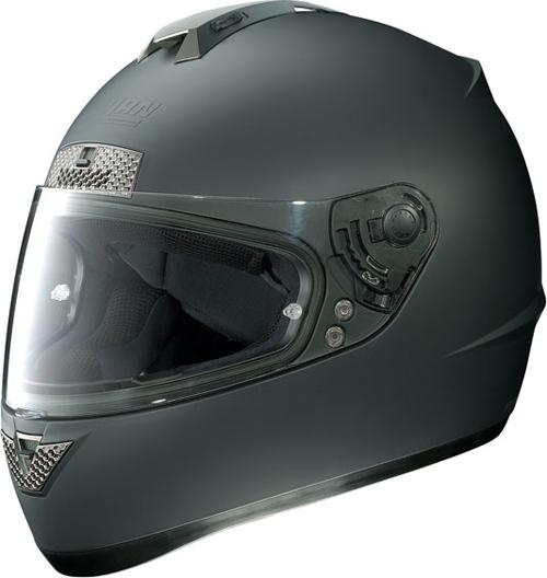 Casco moto integrale Nolan N63 Classic nero opaco