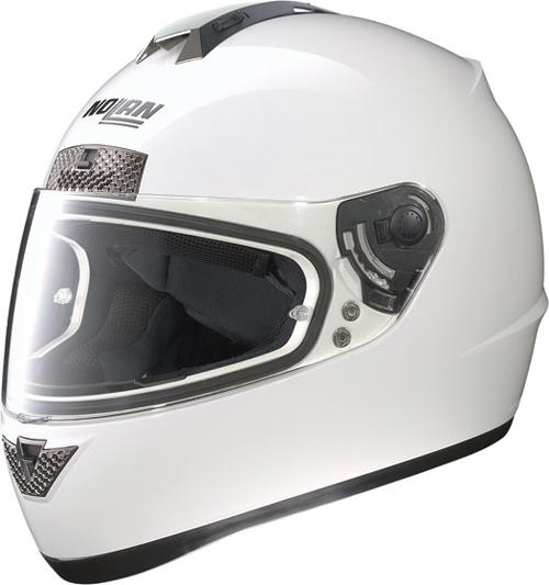 Casco moto integrale Nolan N63 Classic bianco
