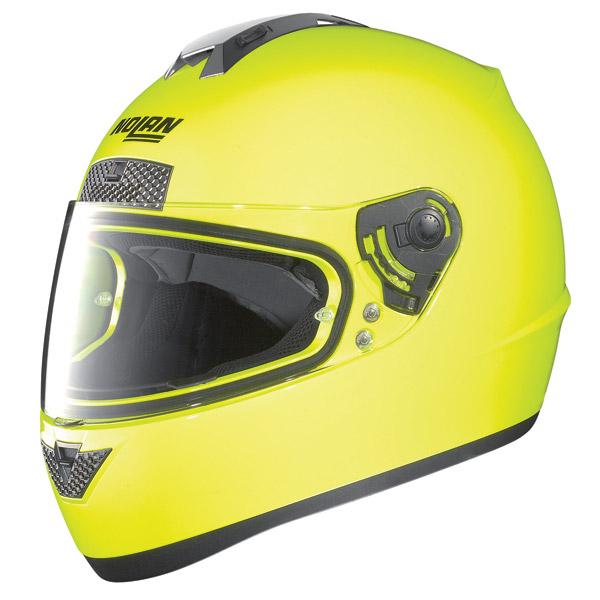 Casco moto Nolan N63 Hi-Visibility fluo yellow