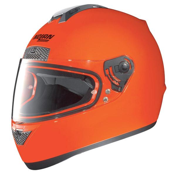 Casco moto Nolan N63 Hi-Visibility fluo orange