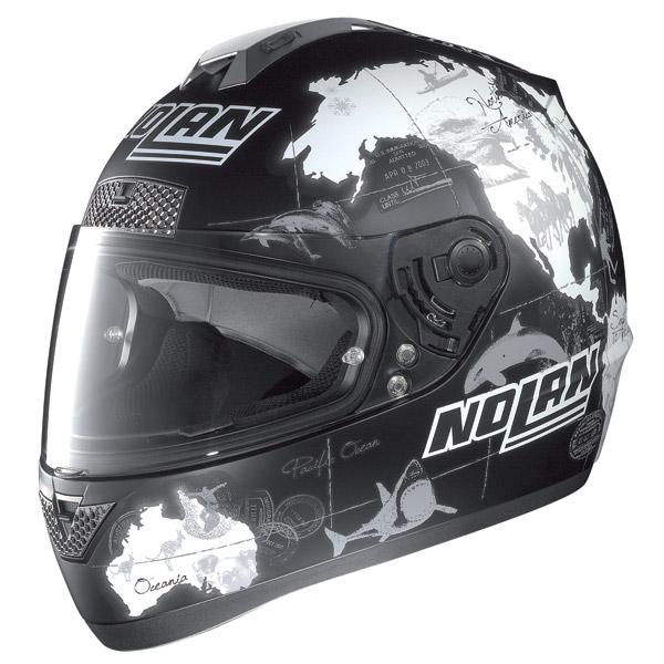 Casco moto Nolan N63 Gemini Replica C.Checa flat black