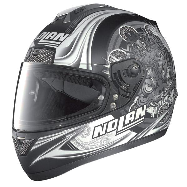Nolan N63 Fearful full-face helmet flat black
