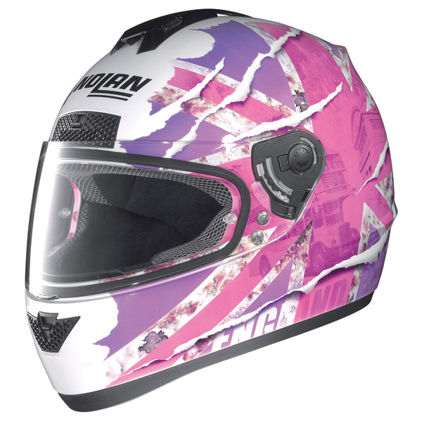 Casco moto Nolan N63 Set Flag 77