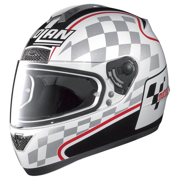 Casco moto Nolan N63 Moto GP bianco