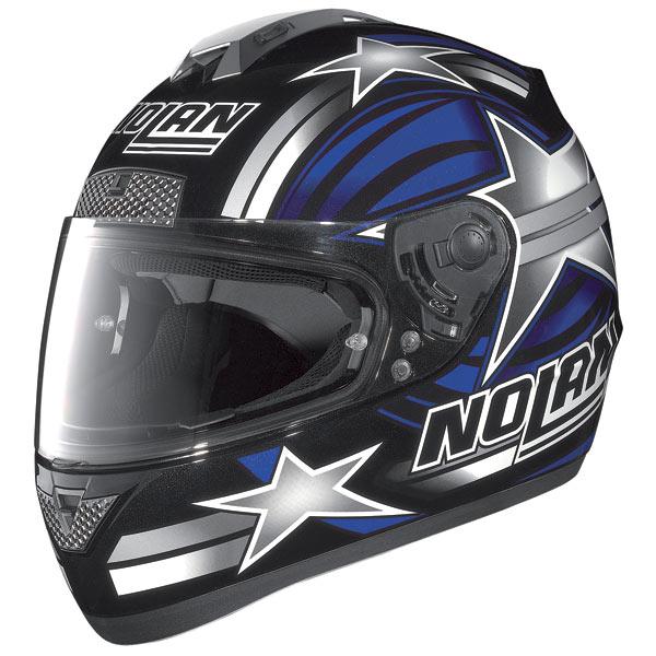 Nolan N63 Stars fullface helmet black-blue