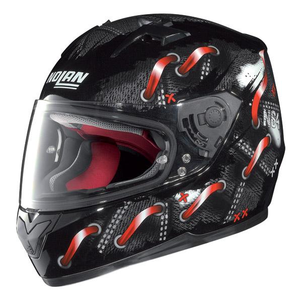 Casco moto integrale Nolan N64 Lace Nero