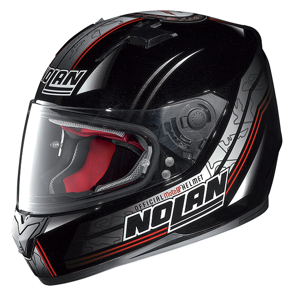 Nolan N64 Moto GP full face helmet Black